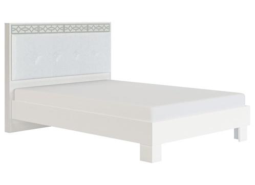 Кровать с мягкой спинкой 1400 мм модуль 1-2 Белла