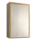 Шкаф 3-х дв. для платья и белья без зеркал Тиффани Премиум