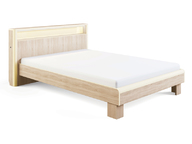 Кровать с подсветкой модуль 3-1 1400 мм Оливия