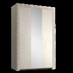 Шкаф 3-х дв. для платья и белья с зеркалами Тиффани Премиум