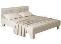 Кровать с мягким изголовьем 14М Азалия