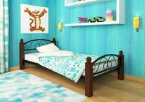 Кровать Вероника Мини Lux Plus чёрная
