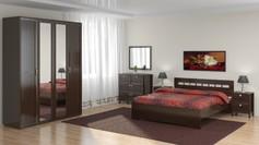 Модульная спальня Соната Венге