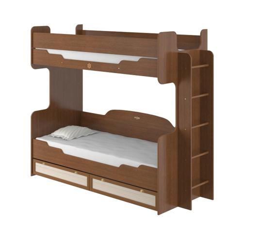 Кровать двухъярусная Робинзон ИД 01.164