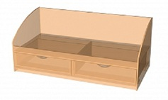 Модуль 14. Кровать с 2-мя ящиками