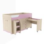 Кровать комбинированная Pink ИД 01.93