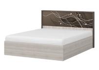 Интерьерная кровать 1600 с подъёмным механизмом КР 67-1 Николь
