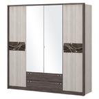 Шкаф 4-х дверный с зеркалом ШК 69-1 Николь