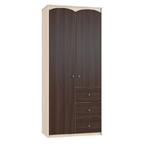 Шкаф 2-х дверный с ящиками Шк87-1 Ева