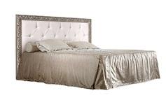 Кровать 2-х спальная с мягким элементом со стразами с подъемным механизмом 1600 Тиффани Премиум