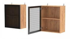 Шкаф навесной со стеклом АМВ60