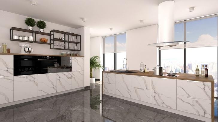 Модульная кухня Авенза Бьянко