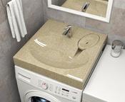 Раковина над стиральной машиной BR 2