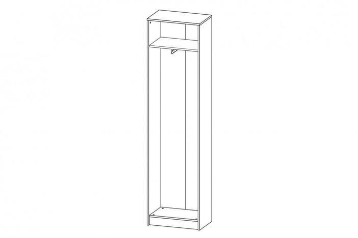 Шкаф Лофт 2 Дуб сонома / Белый СТЛ.117.04М