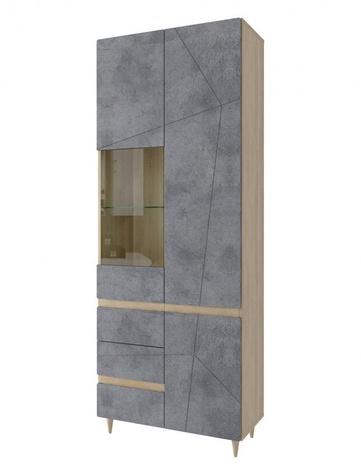 Шкаф со стеклом Киото СТЛ-339-02