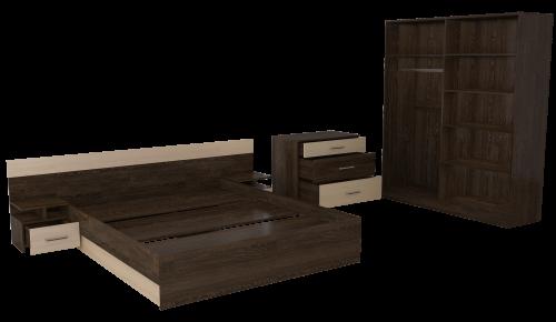 Спальный гарнитур Леси 1