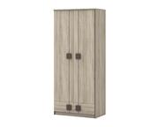 Шкаф 2-х дверный с ящиками Шк24 Диско