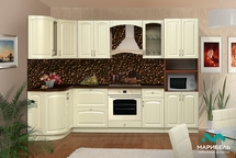 Кухня угловая Кантри 2800-1330