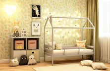 Кровать-домик кд-11 с бортиком