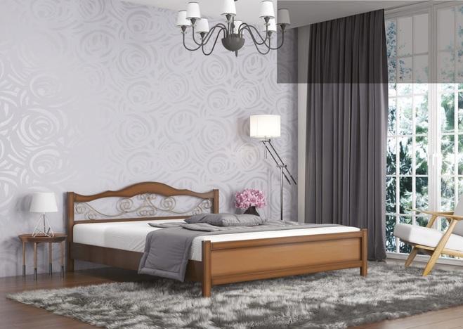 Кровать Ковка с подъемным механизмом