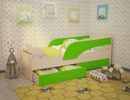 Кровать с ящиками Кроха разные расцветки