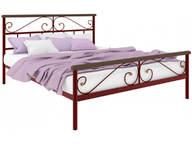 Кровать Эсмеральда Plus красная