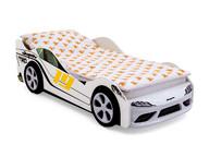 Кровать-машина Супра белая