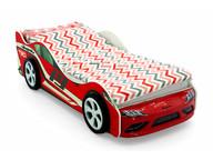 Кровать-машина Супра красная