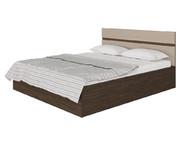 Кровать Ненси с ПМ Венге-Капучино глянец