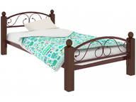 Кровать Вероника Мини Lux Plus коричневая