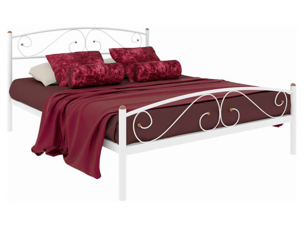 Кровать Вероника Plus белая