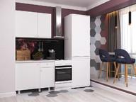 Узкая кухня Point 100см белая
