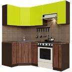Кухонный гарнитур угловой Лайм-2100