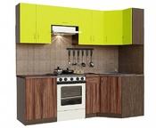 Кухонный гарнитур угловой Лайм-2400