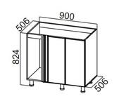 Стол рабочий угловой М1000у-400 Модус