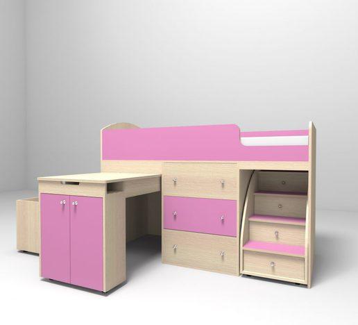 Кровать чердак детский Малыш большой