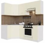 Кухонный гарнитур угловой Нарцисс-2100