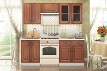 Кухня модульная Ника Итальянский орех 1