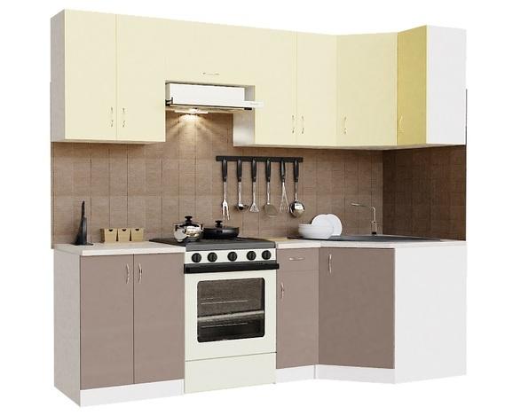 Кухонный гарнитур угловой Орхидея-2400