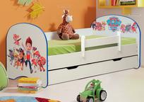 Кровать детская Щенячий патруль с ящиком