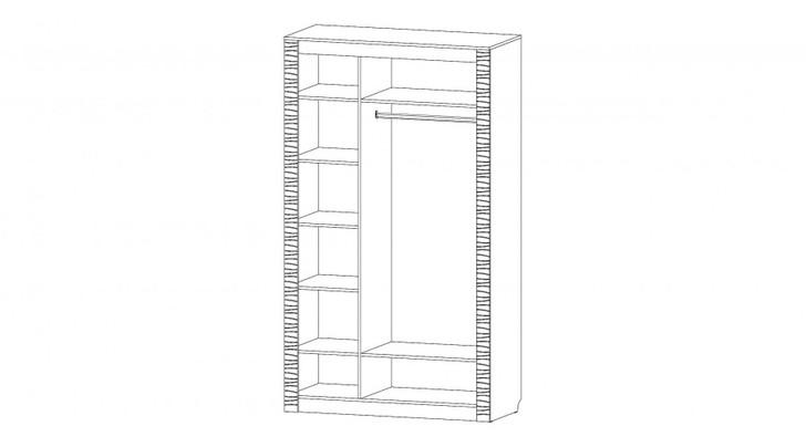 Шкаф 3-х дверный Ривьера