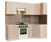 Гарнитур кухонный угловой Ромашка-2400