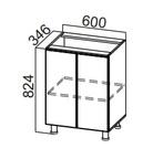 Стол рабочий С600-400 Модус
