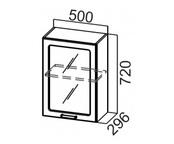 Шкаф навесной со стеклом Ш500с Классика
