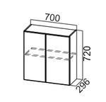Шкаф навесной Ш700 Модерн