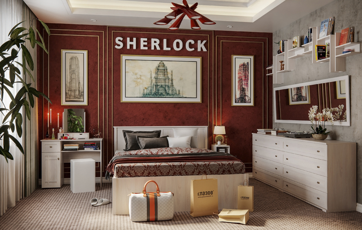 Стол туалетный Шерлок 52 ясень анкор светлый