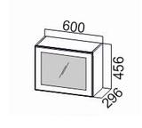Шкаф навесной горизонтальный со стеклом ШГ600с/912 Классика