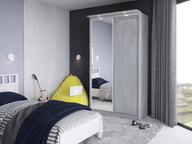 Шкаф-купе Домашний 1200 ателье светлый зеркало