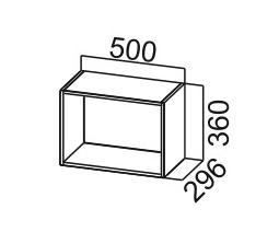 шкаф навесной открытый ШО500 SV