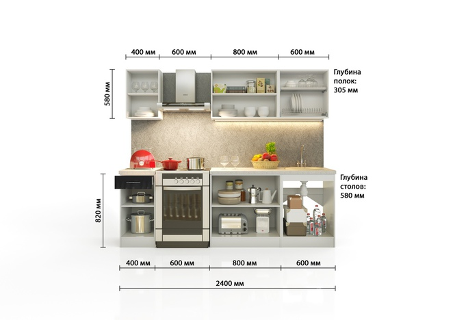 Кухонный гарнитур София-5